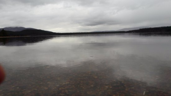 Aviemore, UK: From the shore