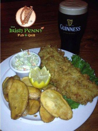 Salisbury, MD: Fresh Haddock Fish & Chip Platter