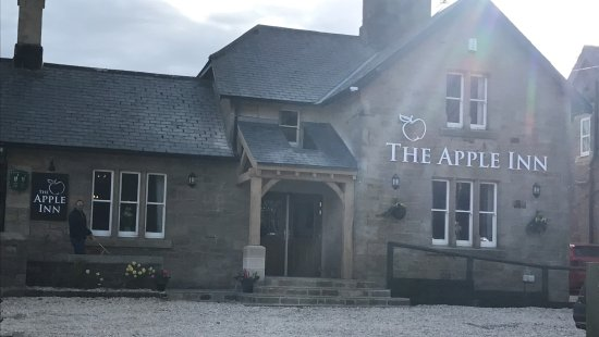 The Apple Inn: The new front of the Gastropub showing new accessible entrance