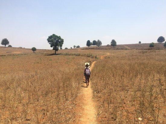 Kalaw, Myanmar: beginning of the trekking