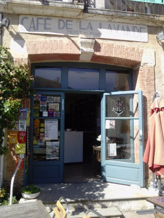 Lardiers, Francia: Café de la Lavande