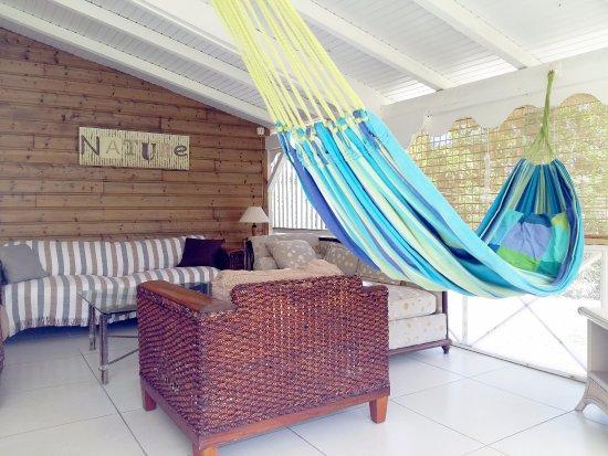 Capesterre, Guadeloupe: Terrasse de la suite Bonheur Nature
