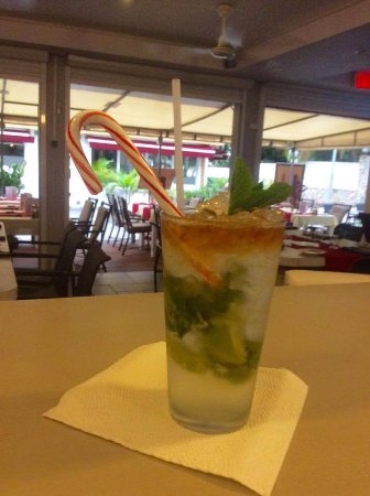 Cupecoy Bay, St. Maarten-St. Martin: best mojito ever