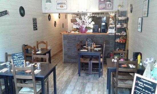 Valdeblore, Γαλλία: La salle de restaurant