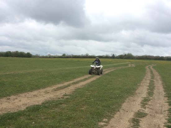 Much Wenlock, UK: Quad biking