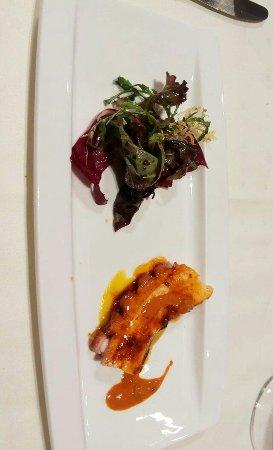 Forua, España: Pulpo en brasa de encina con vinagreta de choriceros