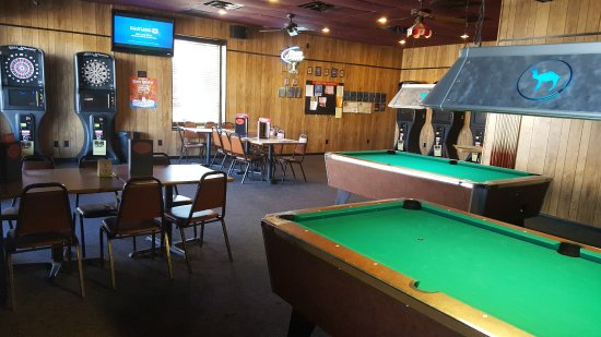 Carmel, IN: Pool Room and Dart room