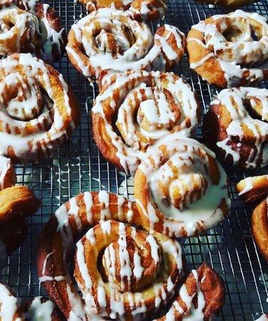 Warren, RI: Cinnamon twist brioche