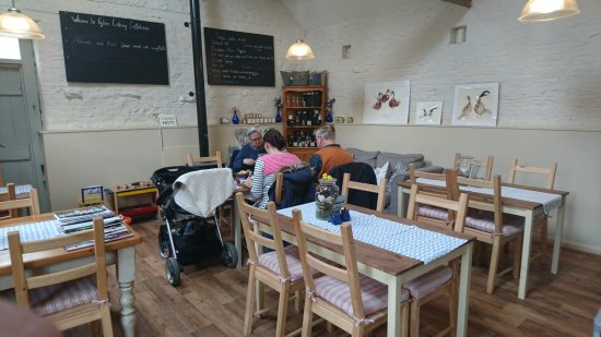 Nunnington, UK: Fryton Catering Coffee House