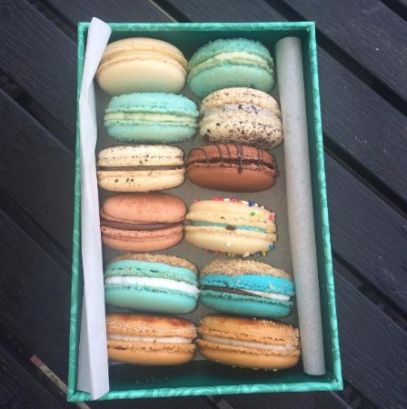 Worthing, Barbados: Delicious macarons!