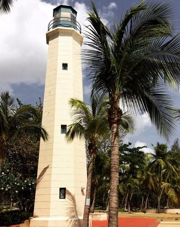 Saint Michael Parish, Barbados: The lighthouse is right on the hotel grounds.