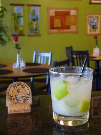 Blacksburg, فيرجينيا: Caipirinha, the traditional drink from Brazil you can find at Gaucho!! #onlyatgaucho