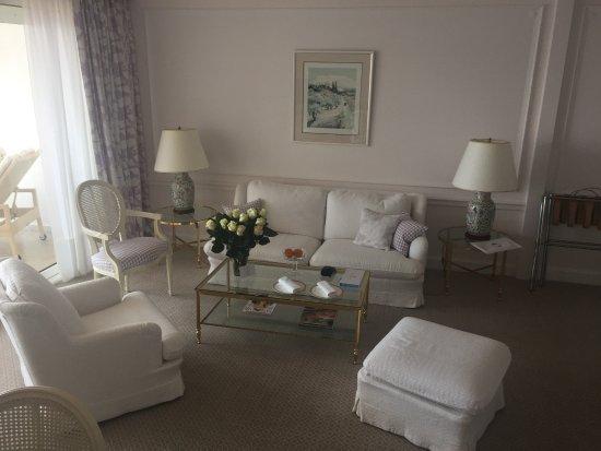 Hotel du Cap Eden-Roc: Wohnbereich unserer Suite..