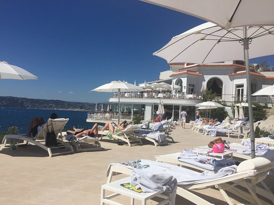Hotel du Cap Eden-Roc: Der Poolbereich