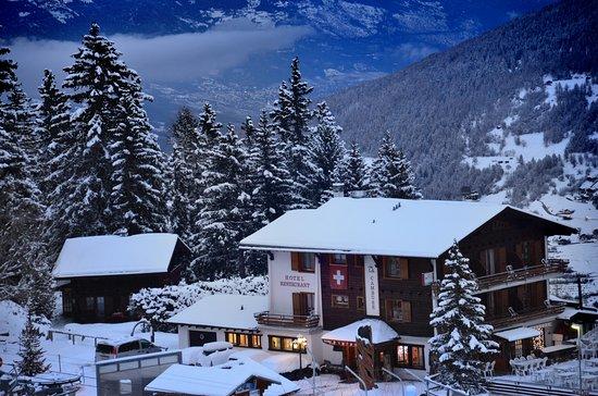 Les Collons, Suiza: Depuis les pistes de ski