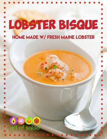 East Brunswick, Nueva Jersey: Lobster Bisque