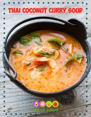 อีสต์บรันสวิก, นิวเจอร์ซีย์: Thai Coconut Curry Soup w/ Shrimp