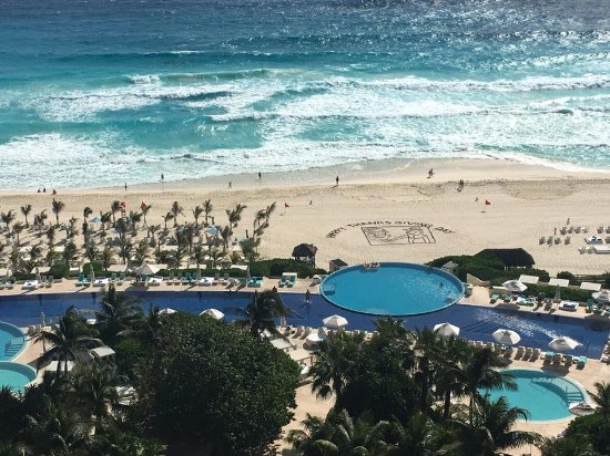 Thanksgiving morning view from our room on the 9th floor picture of live aqua beach resort for How many rooms at live aqua cancun