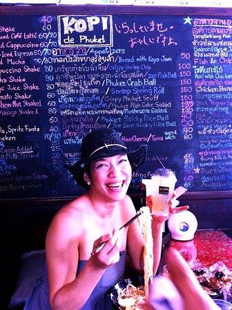 Talat Yai, Tailandia: When you're in Phuket,  KOPI DE PHUKET is a must !!!