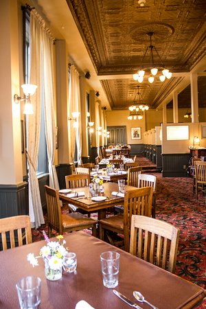 Fort Benton, MT: Union Grille Dining Room