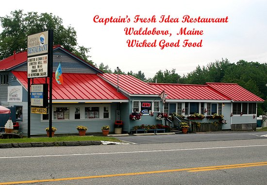 ‪‪Captains Fresh Idea Restaurant‬: We are Celebrating our 30th year! Stop in for a wicked good Lobster Roll‬
