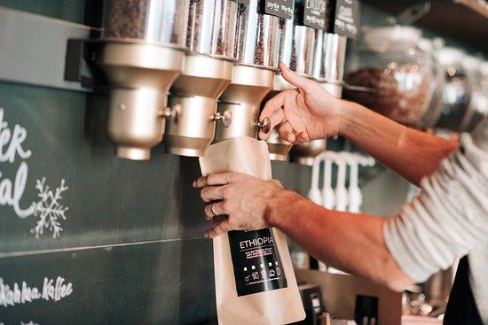 Rheineck, Schweiz: Selbstgerösteter Kaffee
