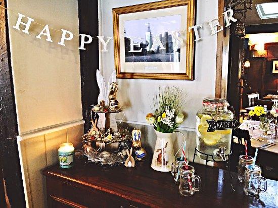 Buckden, UK: Happy Easter
