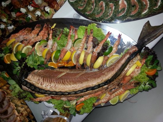 Gdow, Polonia: Dla miłośników ryb i owoców morza.