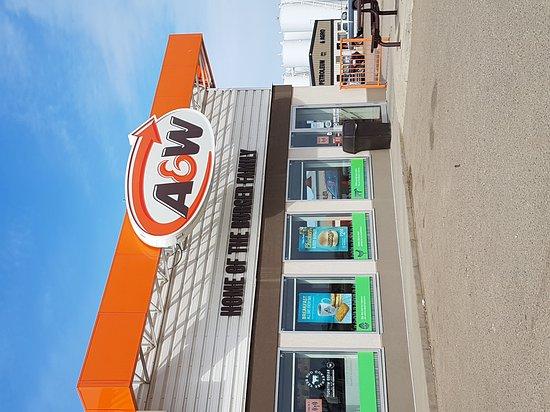 A&W in Oyen, AB, Canada