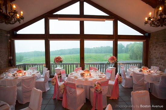 Vineland, Canadá: Wedding Reception