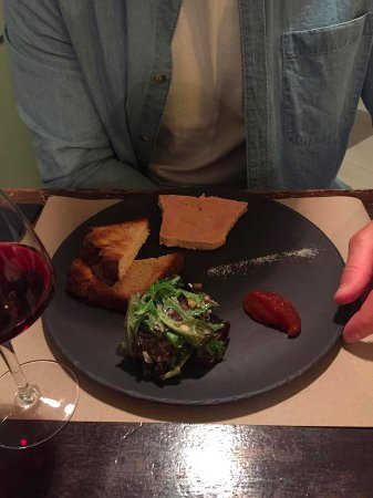 Solutre-Pouilly, France: Home made Foie Gras