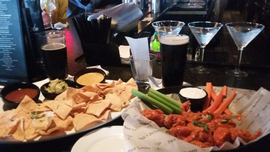 Henrietta, NY: Chips and dips...
