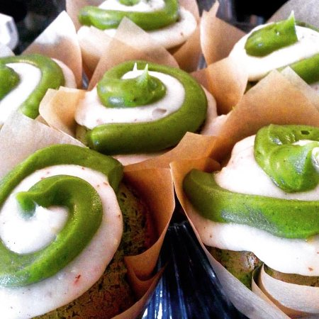 Sperryville, Βιρτζίνια: Matcha Green Tea Cupcakes