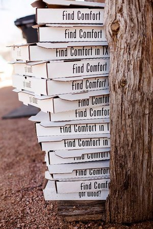 Find Comfort Pizza in Texas Got Wood Fired Perfection