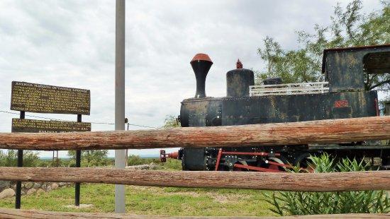 Province of San Luis, Αργεντινή: Antica locomotiva