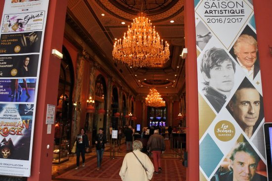 Deauville, France: Casino entree