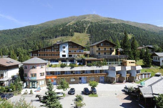 Rennweg, Austria: Außenansicht Hotel Katschberghof