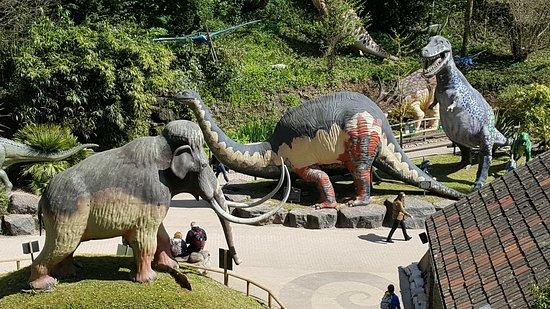 Wookey Hole, UK: Dino Land