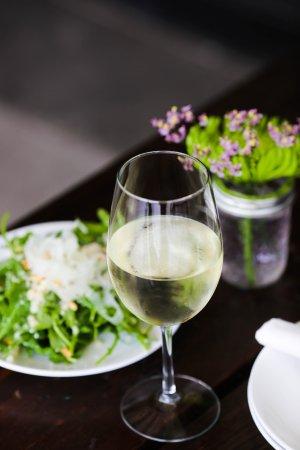 Lakewood, OH: White wine, salad & patio season!