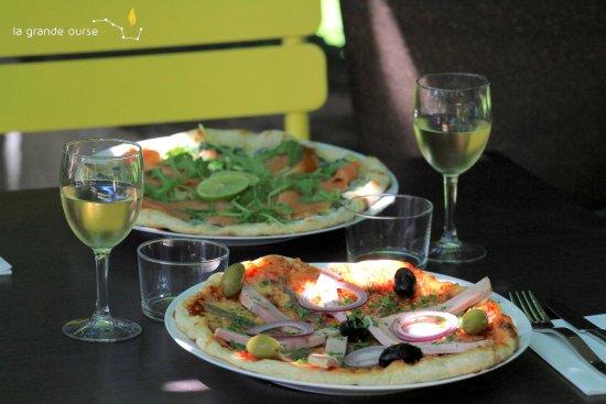 Mauvezin, Francia: Nos pizzas cuisinées à déguster sur place ou à emporter