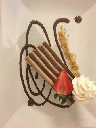 Civita Castellana, Italy: Trancio  semifreddo al cioccolato