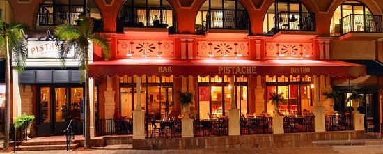 Great Romantic Restaurant Pistache French Bistro West Palm Beach