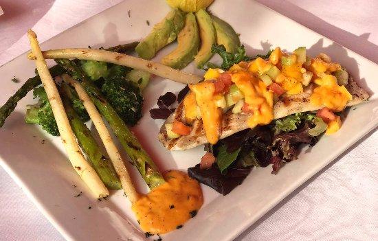 Południowe Miami, Floryda: Snapper fish chef special