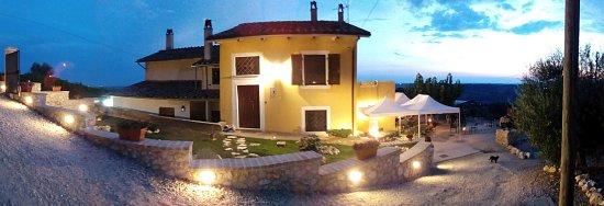 Montecampano, Italien: La location....