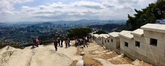 Inwangsan Mountain: View from near the top!