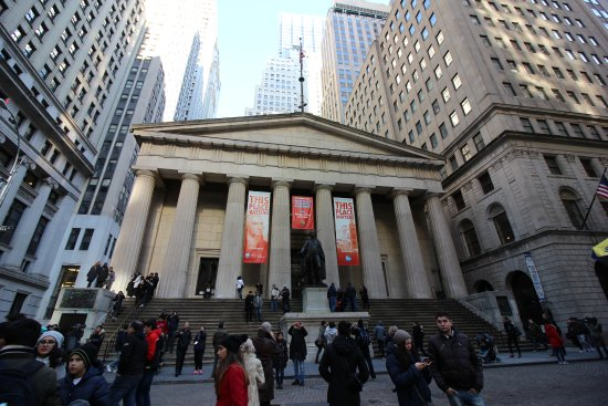 Federal Hall: Fachada