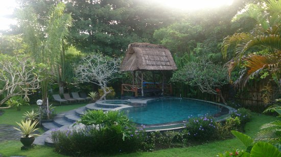 Lullaby Bungalows: piscina