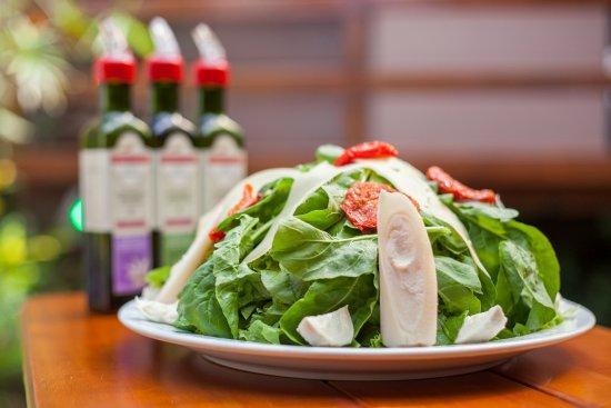 Santa Barbara d'Oeste: Salada Americana! <3