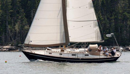 Northeast Harbor, ME: Emilia - Morris Justine 36