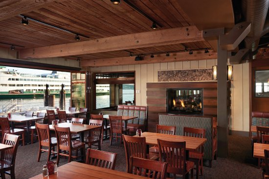 Ivar s Acres of Clams  Fireside dining in our Kalakala Banquet Room  accommodates over 100Ivar s Acres of Clams is conveniently located on the Seattle  . Dinner Seattle Waterfront. Home Design Ideas